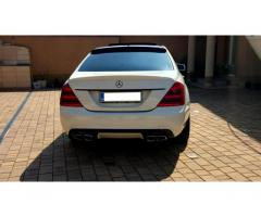Difusor+escapes Mercedes Clase S W221 AMG